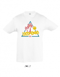 "Locomondo Kids-Shirt ""80s"" white"