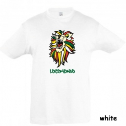 "Locomondo Kids-Shirt ""LEON"" white"