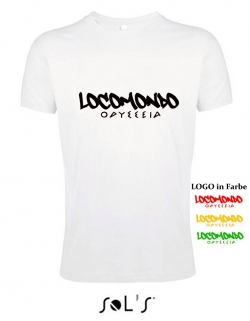 "Locomondo Bandshirt ""ODYSSEIA"" Men, white"