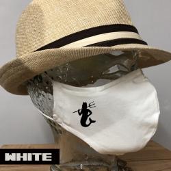 "Premium Baumwoll-Stoffmaske ""MERMAN"""