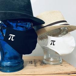 "Premium Baumwoll-Stoffmaske ""Π"" PI"