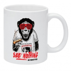 "Astamatitos Tasse ""SEE NOTHING"""