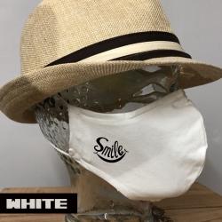"Premium Baumwoll-Stoffmaske ""SMILE"""