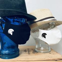 """Premium Baumwoll-Stoffmaske """"SPARTAN-HELMET"""""""
