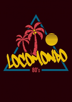 "Locomondo Bandschirt ""80s"" Men's, black"