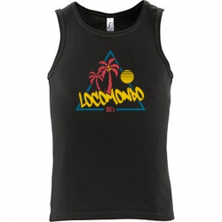 "Locomondo Tank Top ""80s"" Men, schwarz"