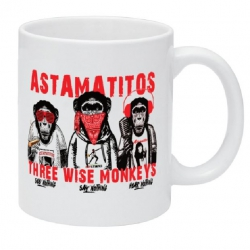 "Astamatitos Tasse ""THREE WISE MONKEYS"""