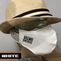 """Premium Baumwoll-Stoffmaske """"UNTER KONTROLLE"""""""