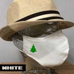 """Premium Baumwoll-Stoffmaske """"WEIHNACHTSBAUM"""""""