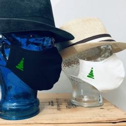 "Premium Baumwoll-Stoffmaske ""RIBBON-TREE"""