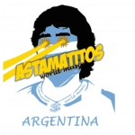 "Astamatitos T-Shirt ""ARGENTINA"" MEN"