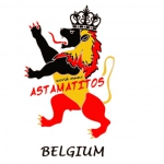 "Astamatitos T-Shirt ""BELGIUM"" MEN"