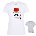 "Astamatitos T-Shirt ""TURKEY"" Women"