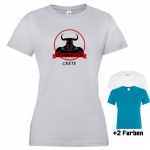 "Astamatitos T-Shirt ""CRETE MINOTAVROS"" Women"