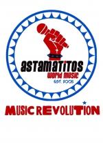 "Astamatitos Hoodie ""MUSIC REVOLUTION"" Unisex"