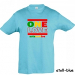 "Astamatitos T-Shirt ""ONE LOVE"" KIDS"