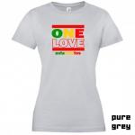 "Astamatitos T-Shirt ""ONE LOVE"" Women"