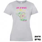 "Astamatitos T-Shirt ""OUT OF SPACE"" Women"