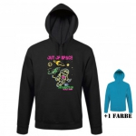 """Astamatitos Hoodie """"OUT OF SPACE"""" Unisex"""