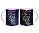 "Astamatitos Tasse ""OUT OF SPACE"""