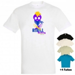 "Astamatitos T-Shirt ""REBELL BOOKING"" MEN"
