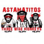 """Astamatitos Tasse """"THREE WISE MONKEYS"""""""
