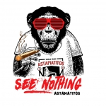 "Astamatitos T-Shirt ""SEE NOTHING"" MEN"