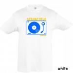 "Astamatitos T-Shirt ""TURNTABLE"" KIDS"