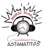 "Astamatitos T-Shirt ""MUSIC-ALARM"" MEN"
