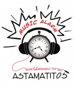 "Astamatitos T-Shirt  ""MUSIC ALARM"" Women"