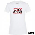 """Astamatitos T-Shirt  """"THREE WISE MONKEYS"""" Women"""