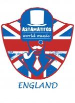 """Astamatitos Hoodie """"ENGLAND"""" Unisex"""