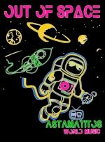 "Astamatitos T-Shirt ""OUT OF SPACE"" MEN"