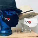 """Premium Baumwoll-Stoffmaske """"CRETE-MINOAN-AXE"""""""