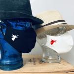 """Premium Baumwoll-Stoffmaske """"TROMPETEN-ENGEL"""""""