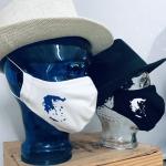 "Premium Baumwoll-Stoffmaske ""GREECE-MAP"""