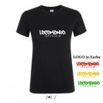 """Locomondo Bandshirt """"ODYSSEIA"""" Women, schwarz"""