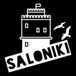 "Premium Baumwoll-Stoffmaske ""SALONIKI"""