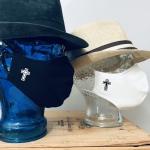 """Premium Baumwoll-Stoffmaske """"STAVROS"""" Kreuz"""