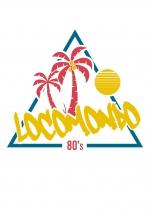 """Locomondo Kids-Shirt """"80s"""" white"""