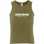 "Locomondo Tank Top ""ODYSSEIA"" Men, Army"